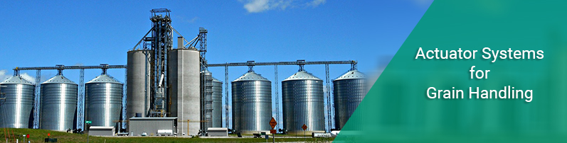 Actuator Systems for Grain Handling